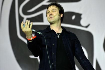 Lead singer Tom Meighan