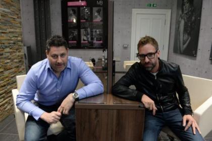 Owner Dara Changizi and director Martin Brown