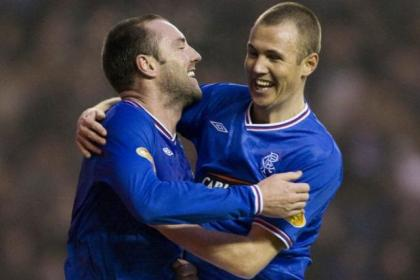 Kenny Miller (right) would be delighted to team up again with Kris Boyd at Rangers