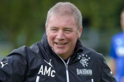 Ally McCoist praised the Rangers fans for their support