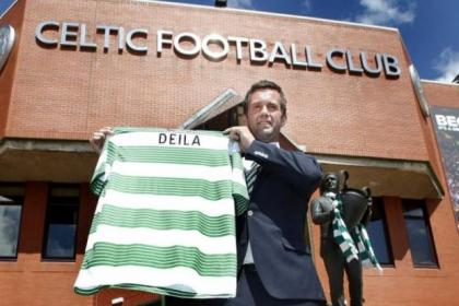 Ronny Deila says he will strip off again if Celtic wins the Champions League