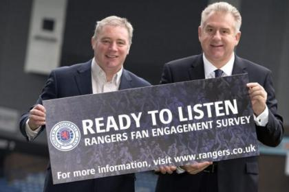 Ready To Listen campaign launched by Ally McCoist and Graham Wallace was 'first step' to greater fan involvement