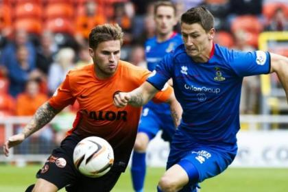 David Goodwillie, above left, was on loan at old club Dundee United last season for a spell