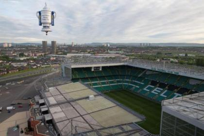 Parkhead hosted the 2014 Scottish Cup final