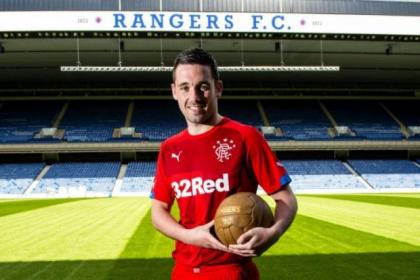 Nicky Clark promotes Rangers' new 3rd kit
