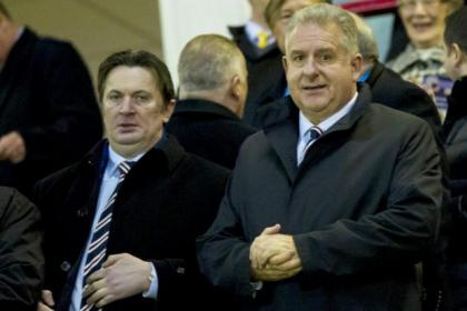 Fans want to know if it is Sandy Easdale or Graham Wallace who is in charge at Ibrox