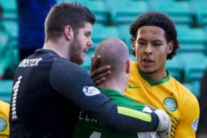Celtic boss Ronny Deila will be hoping Fraser Forster and Virgil van Dijk will be returning to play at Parkhead next season