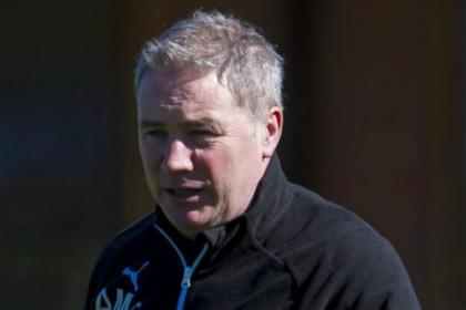 Ally McCoist happy with Derby clash