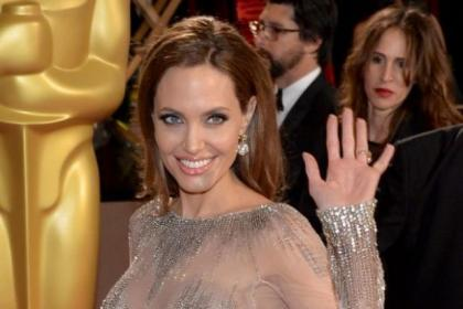 Angelina Jolie was among the stars recognised in the Honours List
