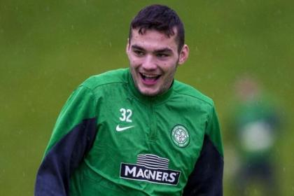 Tony Watt is happy to be back at Celtic