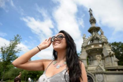 Scotland is expected to bask in Brazilian-style sunshine