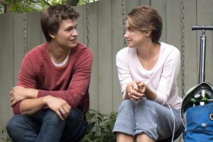 Ansel Elgort and Shailene Woodley are both first rate as teenage cancer victims who fall in love