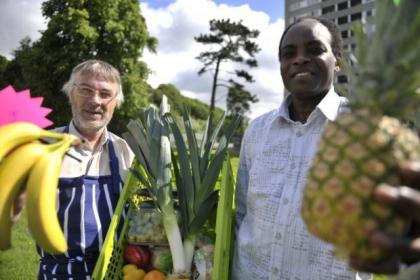The food co-op has been launched in Pollok