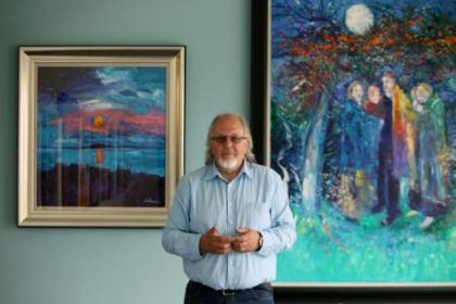 Jolomo has pledged cash to help the Art School