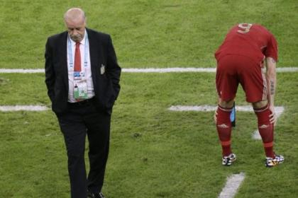 Vicente del Bosque will need to start all over again...if he remains as Spain coach
