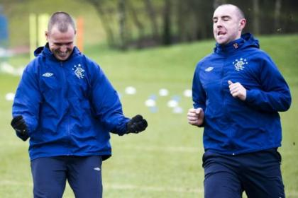 Kenny Miller and Kris Boyd could team up again at Rangers