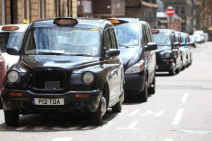 plain clothes officers will tail taxis