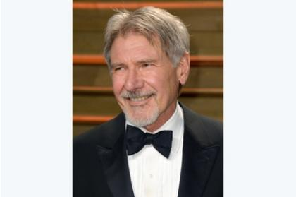 Harrison Ford plays Han Solo in the movie.