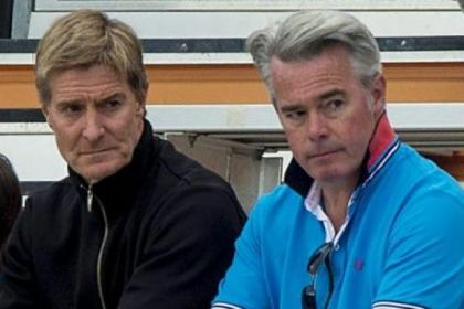 Richard Gough and Paul Murray watched Rangers go down 3-1 against Ventura County Fusion