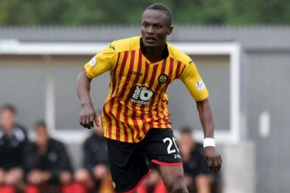 Abdul Osman featured as a trialist for Partick Thistle
