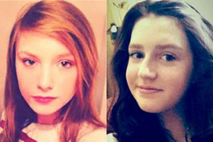 Chloe Dawson is pictured (left) and Chloe Mantle is pictured (right).