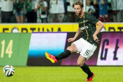 Jo Inge Berget had an unhappy debut for Celtic last night
