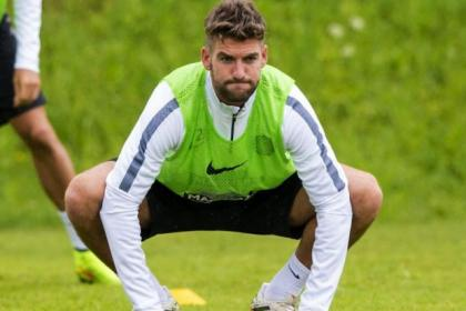 Charlie Mulgrew is working hard in pre-season action ahead of Euro push