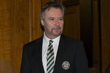 Brian Duffy was praised by chairman Ian Bankier
