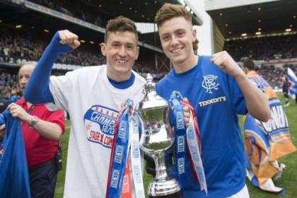 Rangers young guns Fraser Aird and Lewis MacLeod will learn from many top level players such as Kris Boyd and Kenny Miller, inset above