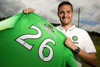 Craig Gordon came through a strenuous medical at Celtic