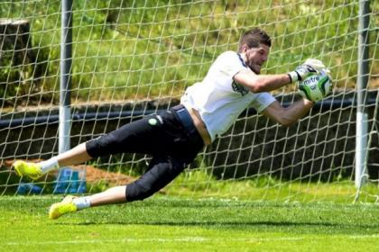 Fraser Forster is looking forward to Celtic's Champions League opener after returning to training