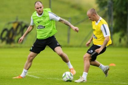 Anthony Stokes and Leigh Griffiths will both have roles to play in the Champions League qualifiers