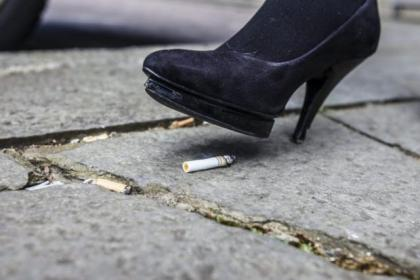 Smokers are the most likely people to be fined for littering with 20,000 fines handed out for dropping cigarette butts