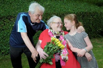 Jimmy and Sadie McCafferty have celebrated 60 years of marriage