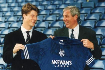 Brian Laudrup was signed by Walter Smith 20 years ago