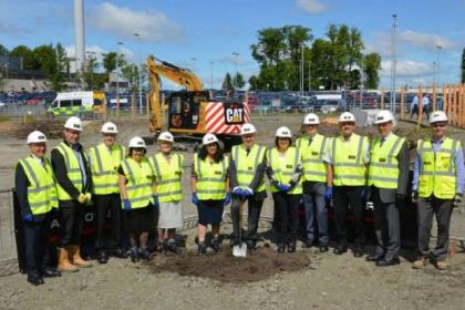 Work has begun on the new Beatson Centre in Airdrie