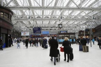 Thousands of commuters were stranded by the chaos at Central Station