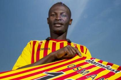 Abdul Osman has made a return to Scotland after a previous spell at Gretna back in 2007-08
