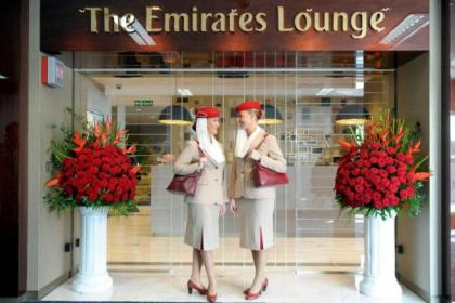 Emirates have opened the new lounge at Glasgow Airport