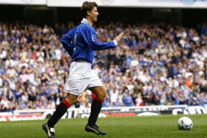 Brian Laudrup is rated as Rangers' greatest ever player by many fans