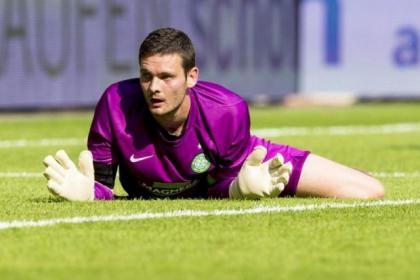 Craig Gordon enjoyed a clean sheet during his Celtic debut against Dynamo Dresden