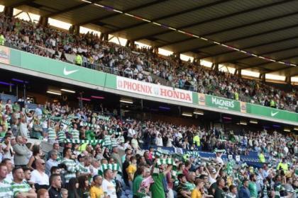Celtic fans enjoyed their trip to Edinburgh