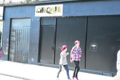 The Cirque Club in Queen Street is being put on the market