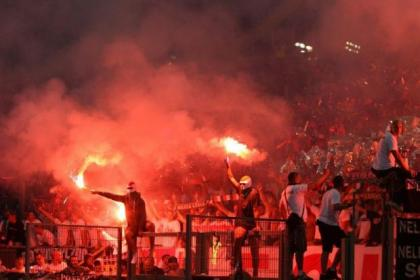 Legia Warsaw fans are known for making their feelings clear if the team under-performs
