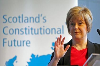 Nicola Sturgeon said public services are in danger