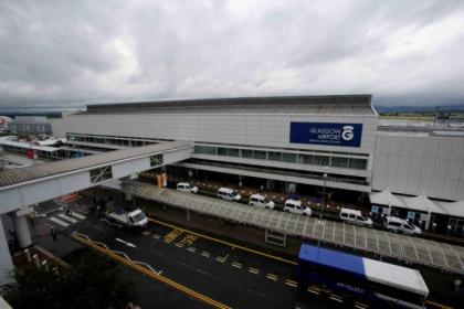 Glasgow Airport staff were told by e-mail about the move