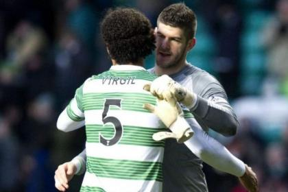 Big loss . . . Fraser Forster and Virgil van Dijk could both leave Celtic