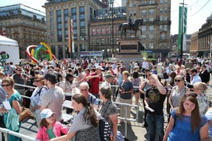 The Games vibe in the city has persuaded many visitors to extend their stay in Scotland