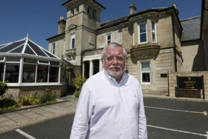 Entrepreneur George Martin, who bought the Pavilion in 1986, also owned the Fairfield House Hotel in Ayr