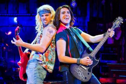 Noel, now starring with Cordelia Farnworth in Rock of Ages, told about his time after Hear'Say